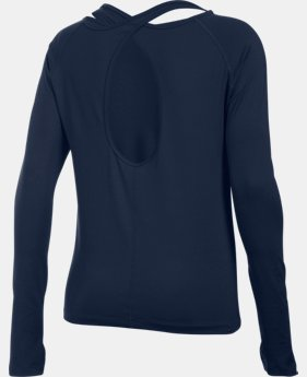Best Seller Women's UA Swing Keyhole Long Sleeve LIMITED TIME: FREE SHIPPING 1 Color $49.99