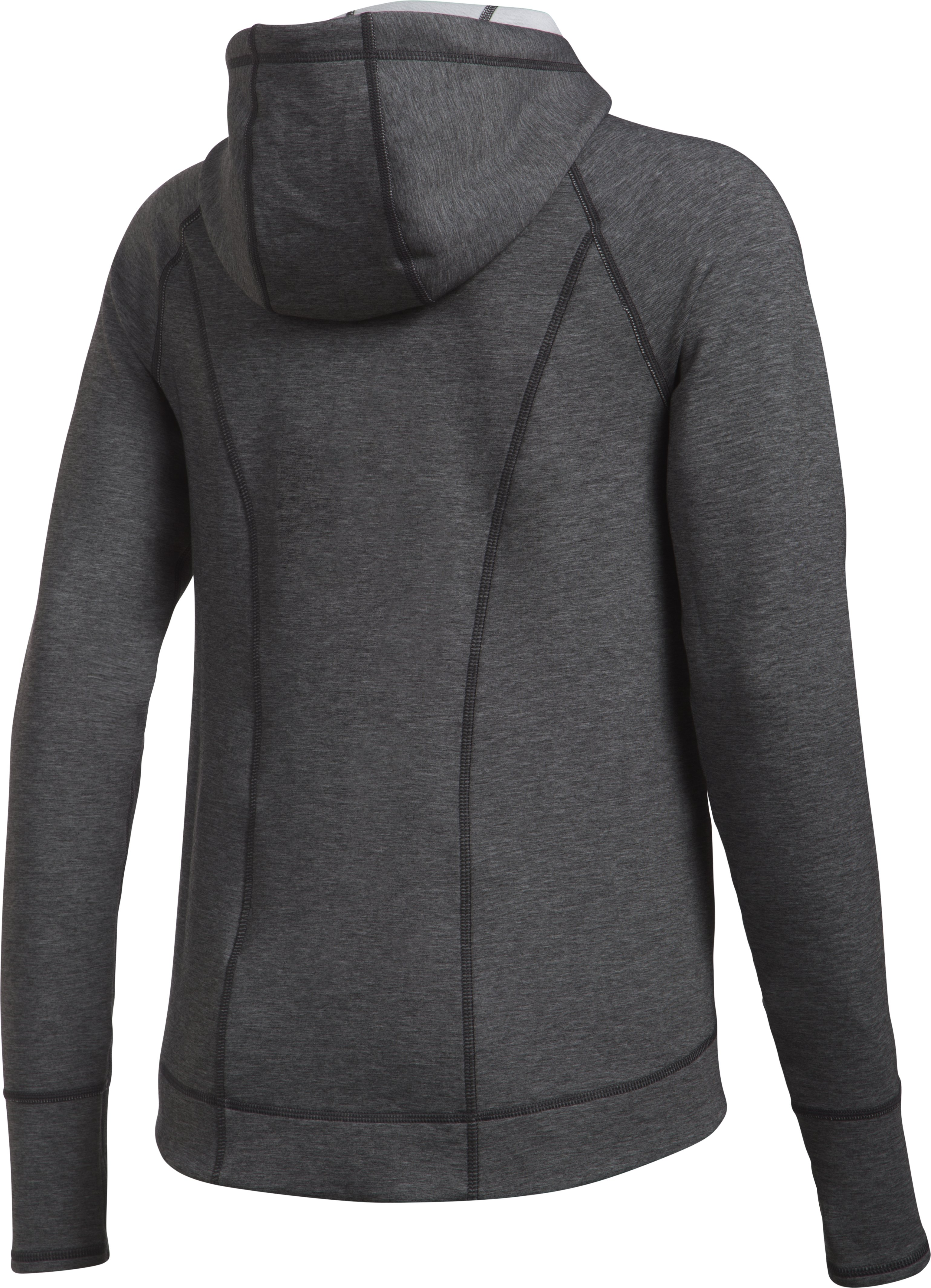 Women's UA Luster Jacket, Carbon Heather