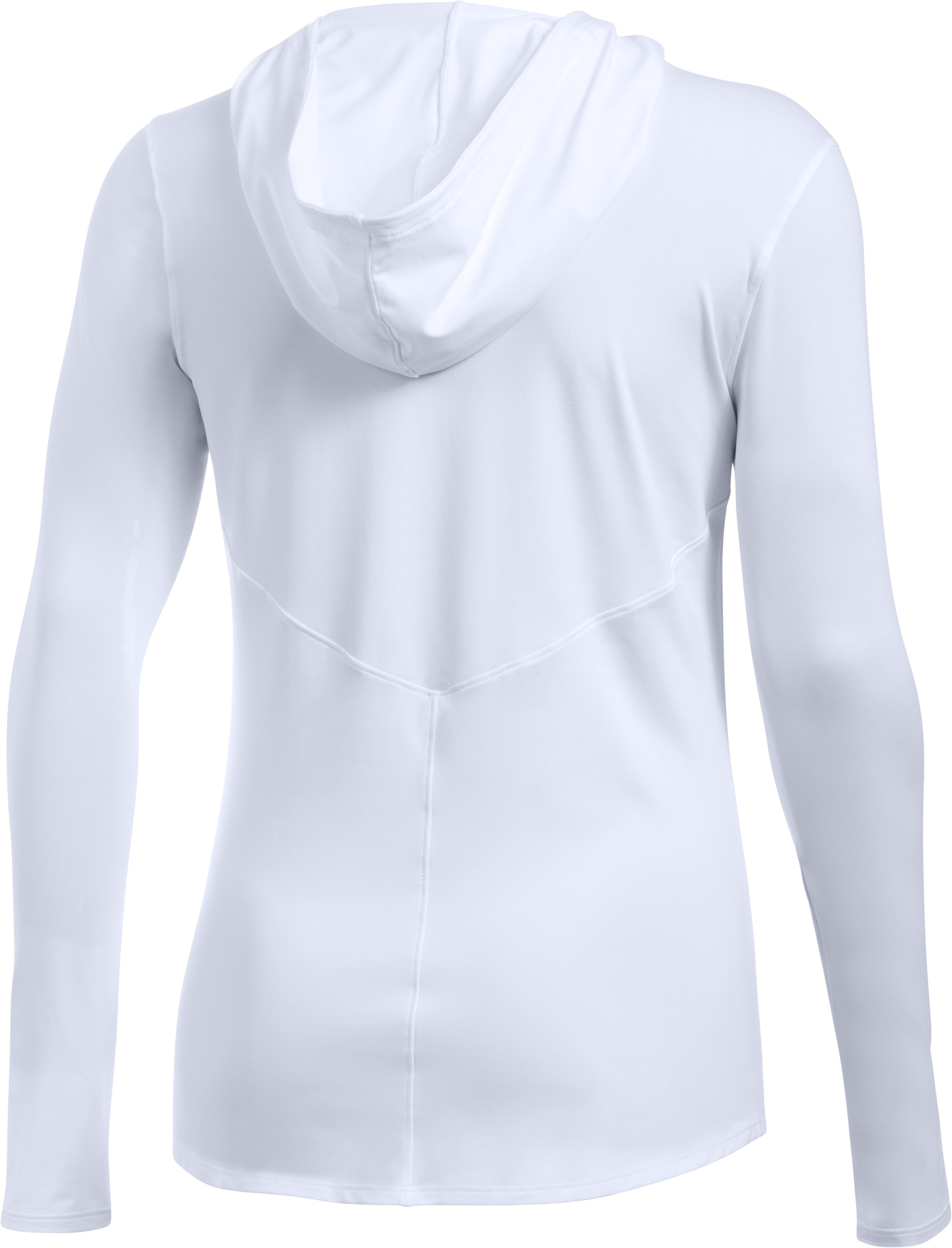 Women's UA 50 Hoodie, White, undefined