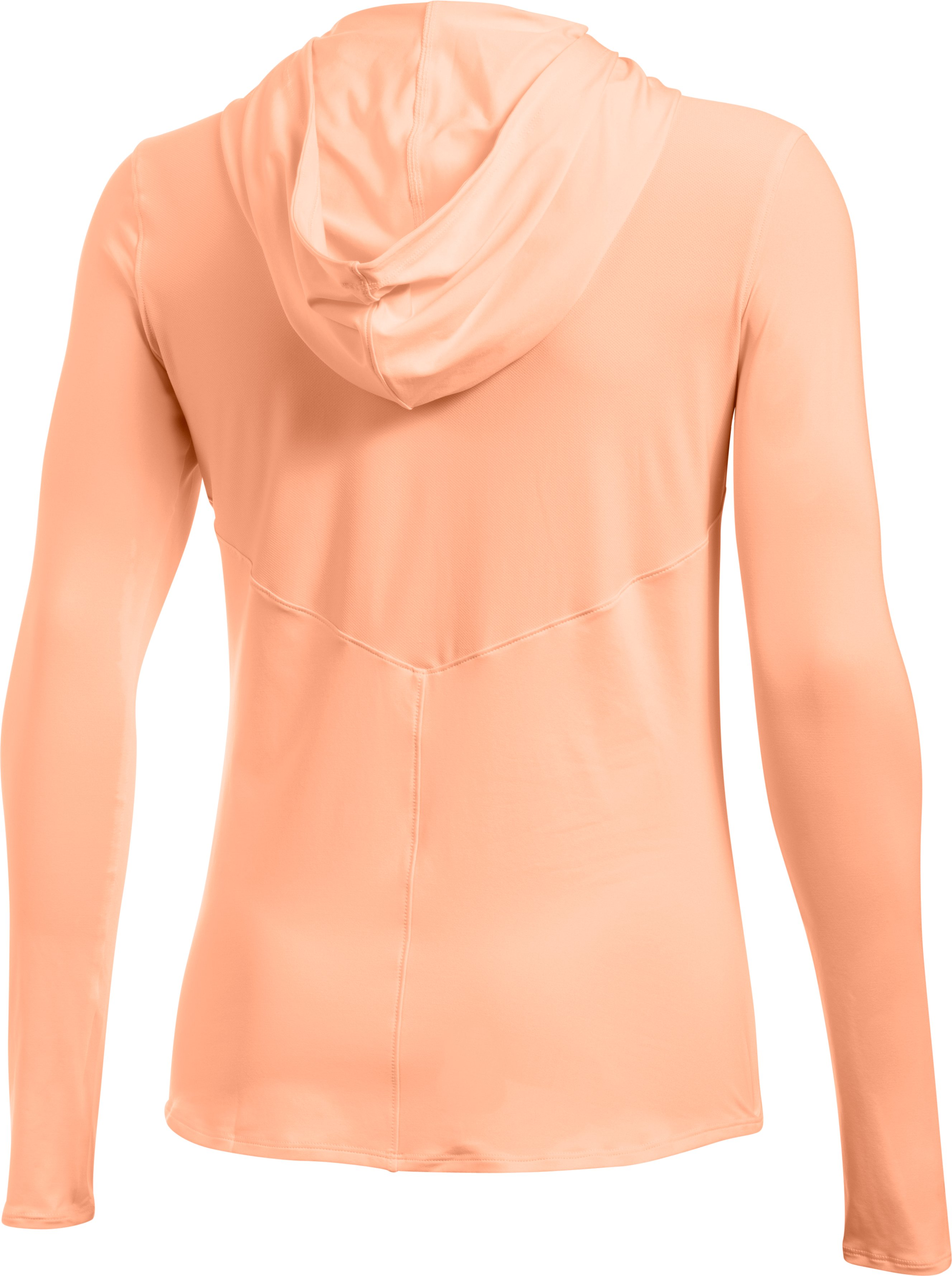 Women's UA 50 Hoodie, PLAYFUL PEACH, undefined