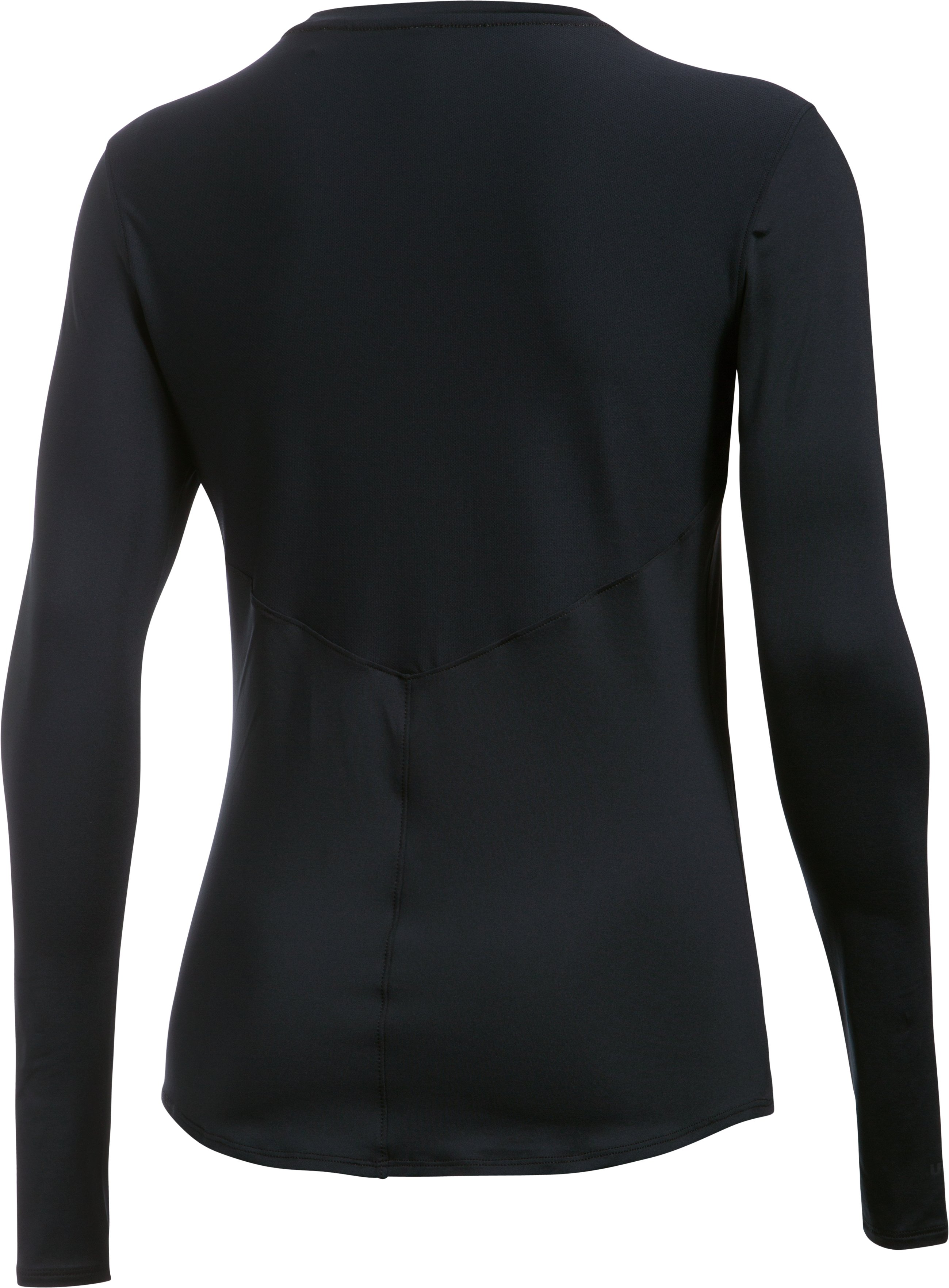 Women's UA 50 Long Sleeve, Black ,