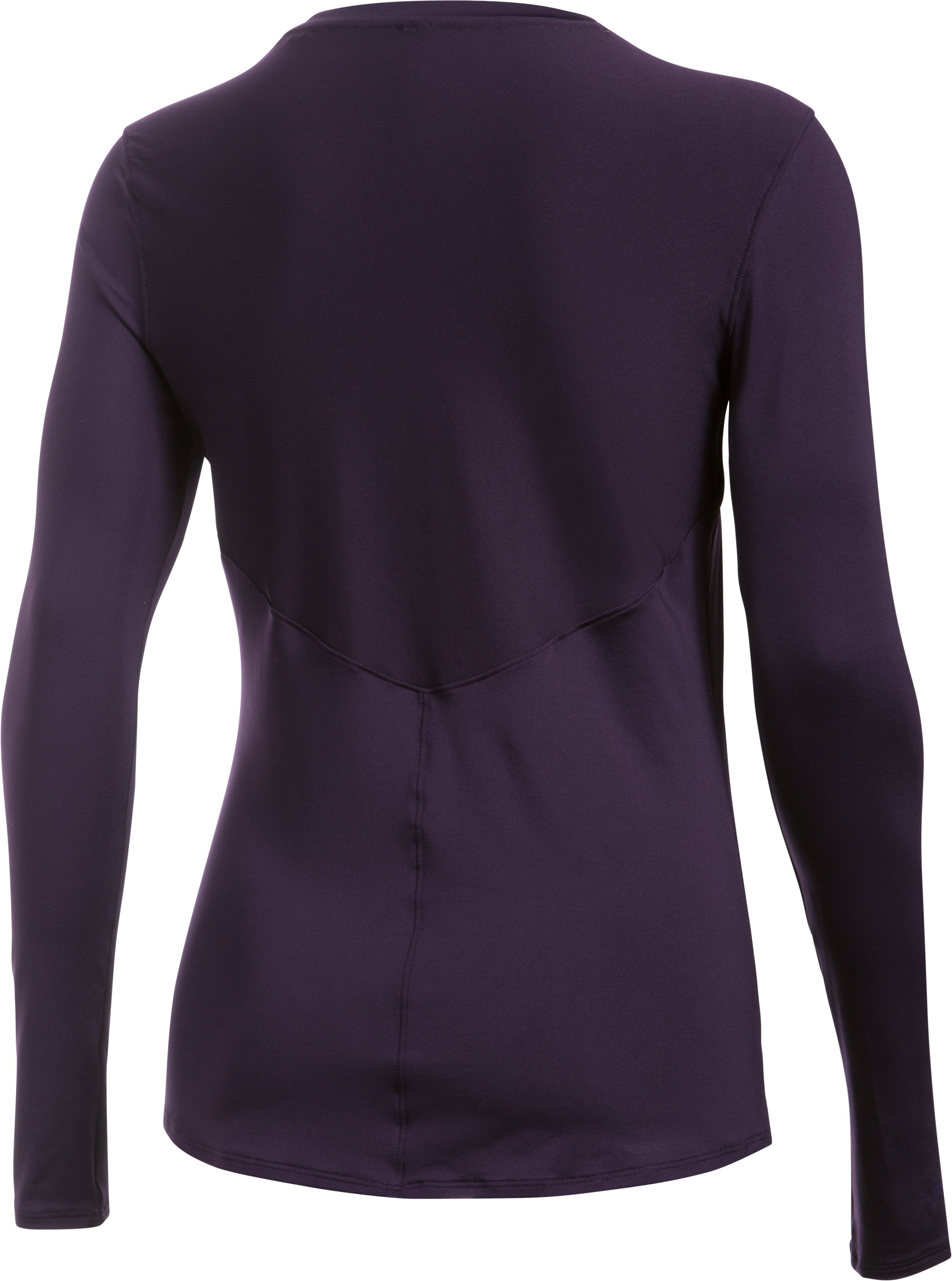 Women's UA 50 Long Sleeve, IMPERIAL PURPLE, undefined
