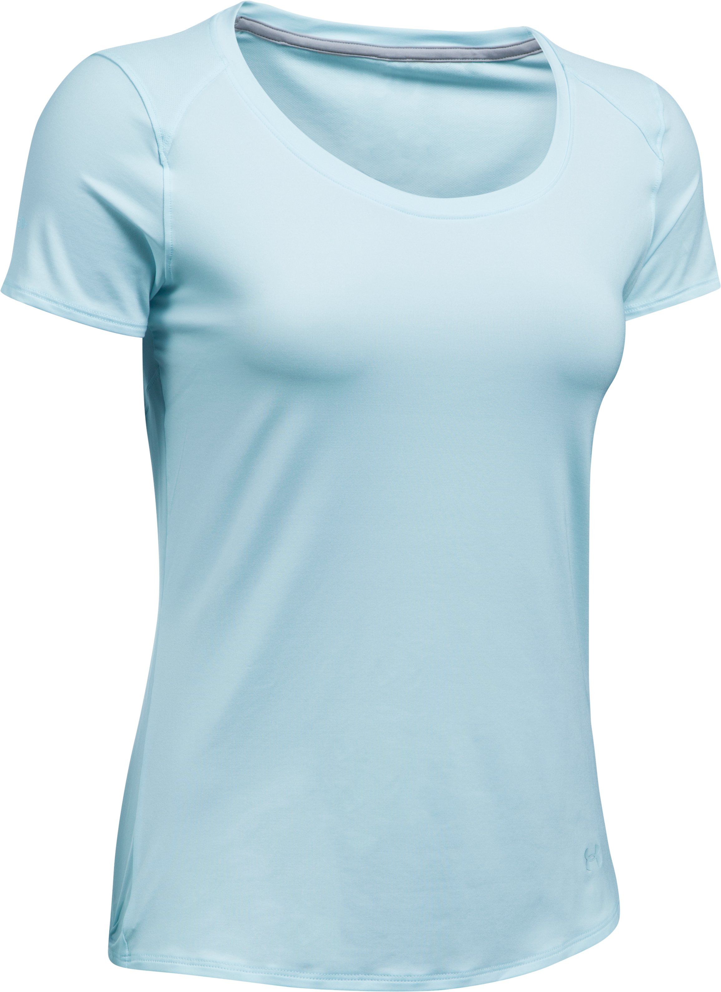 Women's UA 50 Short Sleeve, SKYLIGHT,