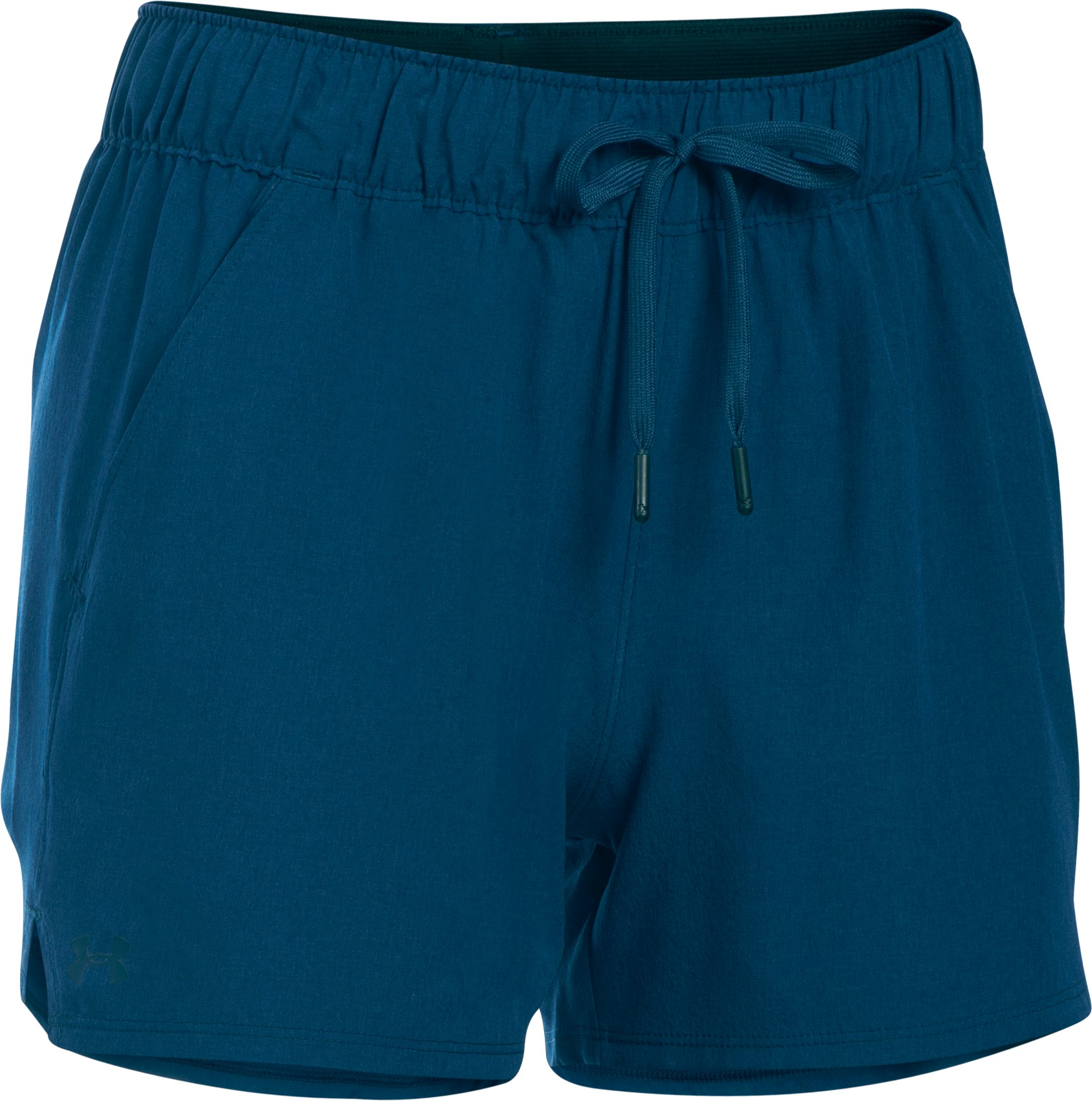 Women's UA Do Anything Shorts, BLACKOUT NAVY, undefined