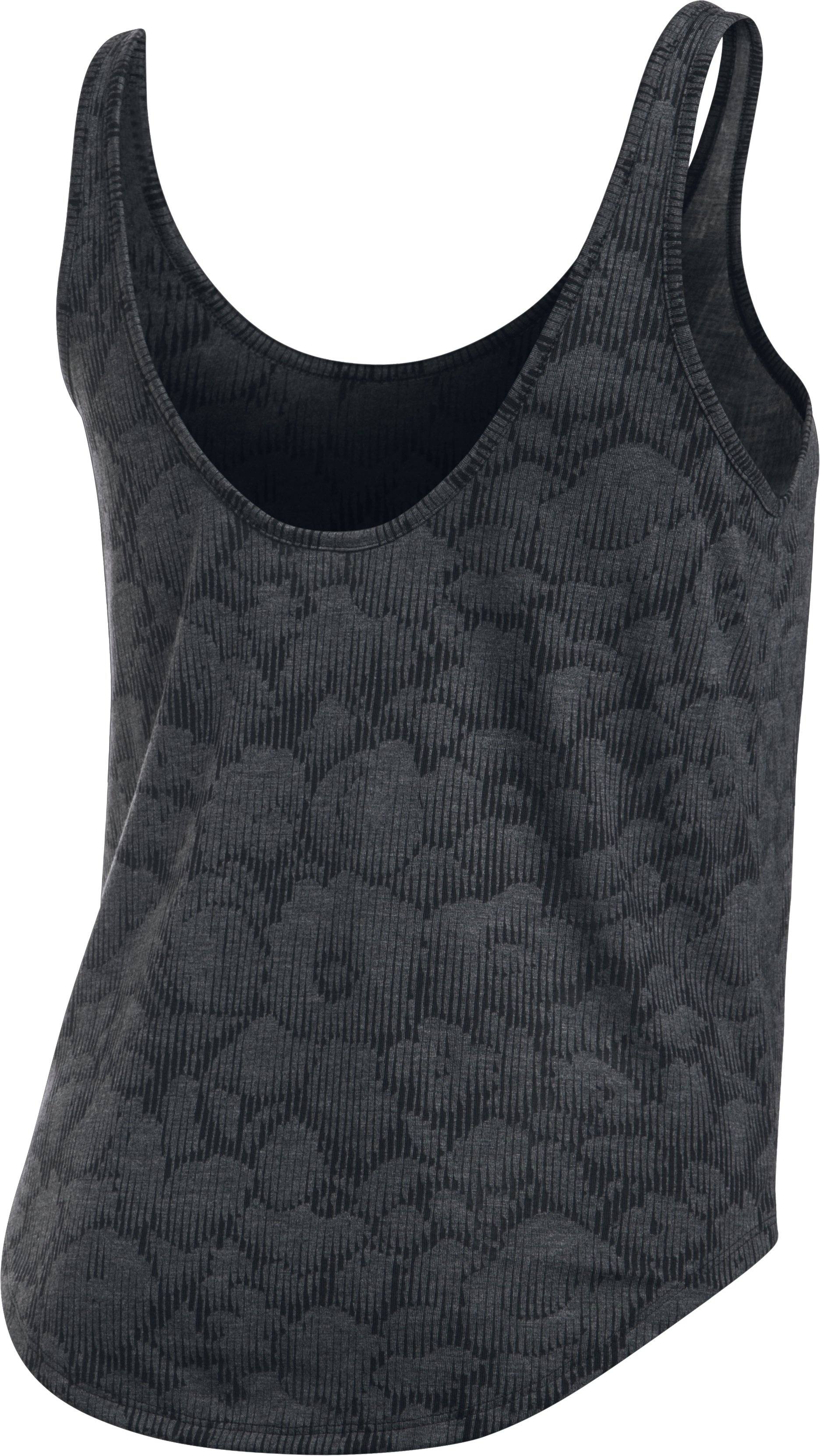 Women's UA Burnout Tank, Black , undefined
