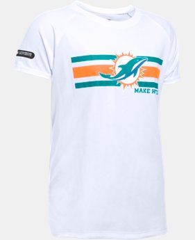 Girls' NFL Combine Authentic UA Tech™ Graphic T-Shirt   1 Color $27.99