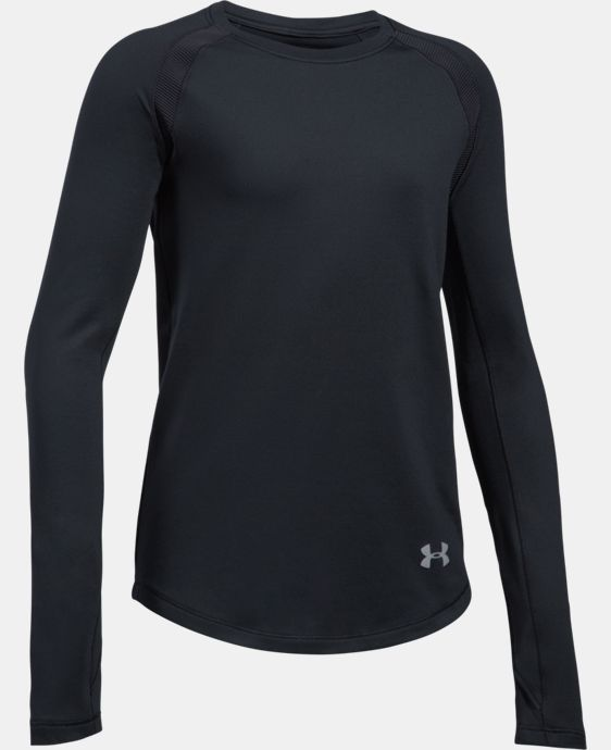 Girls' UA ColdGear® Raglan  LIMITED TIME: FREE SHIPPING 2 Colors $37.49