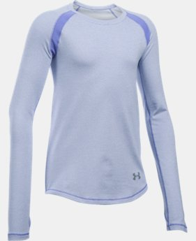 Girls' UA ColdGear® Raglan  4 Colors $24.99 to $33.99
