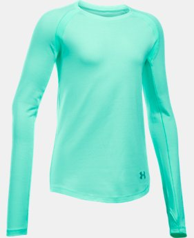 Girls' UA ColdGear® Raglan  LIMITED TIME OFFER + FREE U.S. SHIPPING 2 Colors $33.74