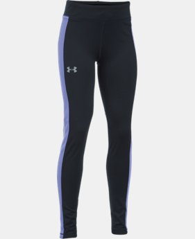 Girls' UA ColdGear® Leggings LIMITED TIME OFFER + FREE U.S. SHIPPING 2 Colors $37.49