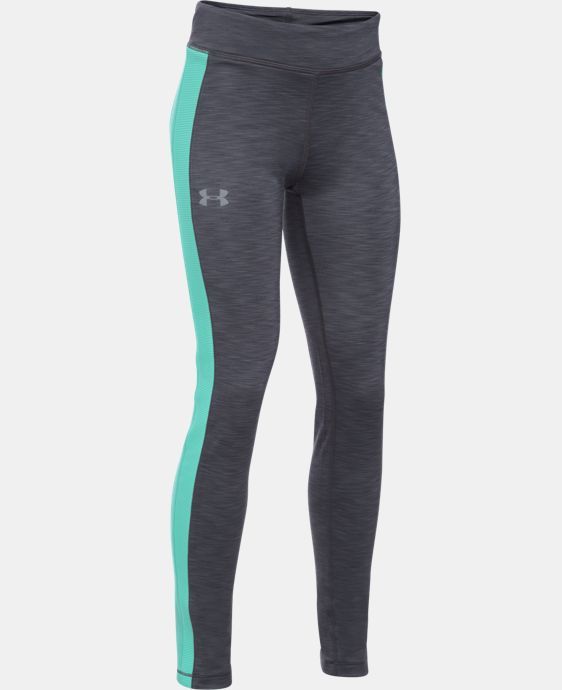 Girls' UA ColdGear® Leggings LIMITED TIME OFFER + FREE U.S. SHIPPING  $37.49