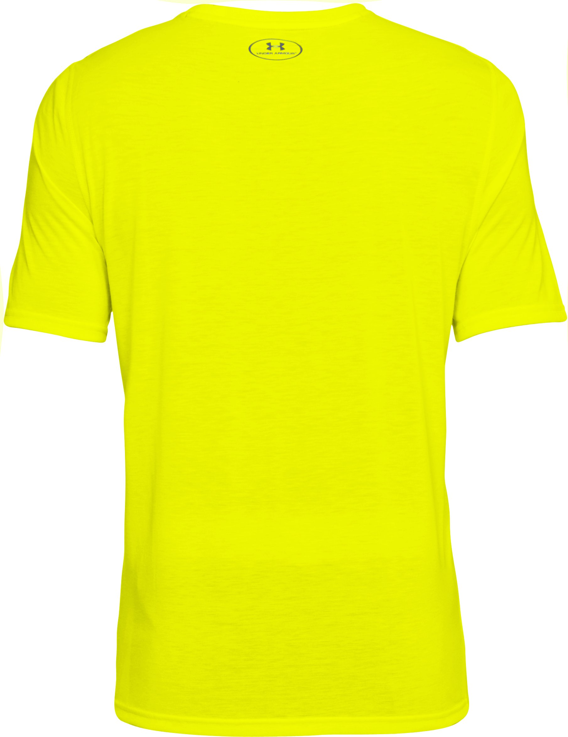 Men's UA Threadborne Siro T-Shirt, High-Vis Yellow,