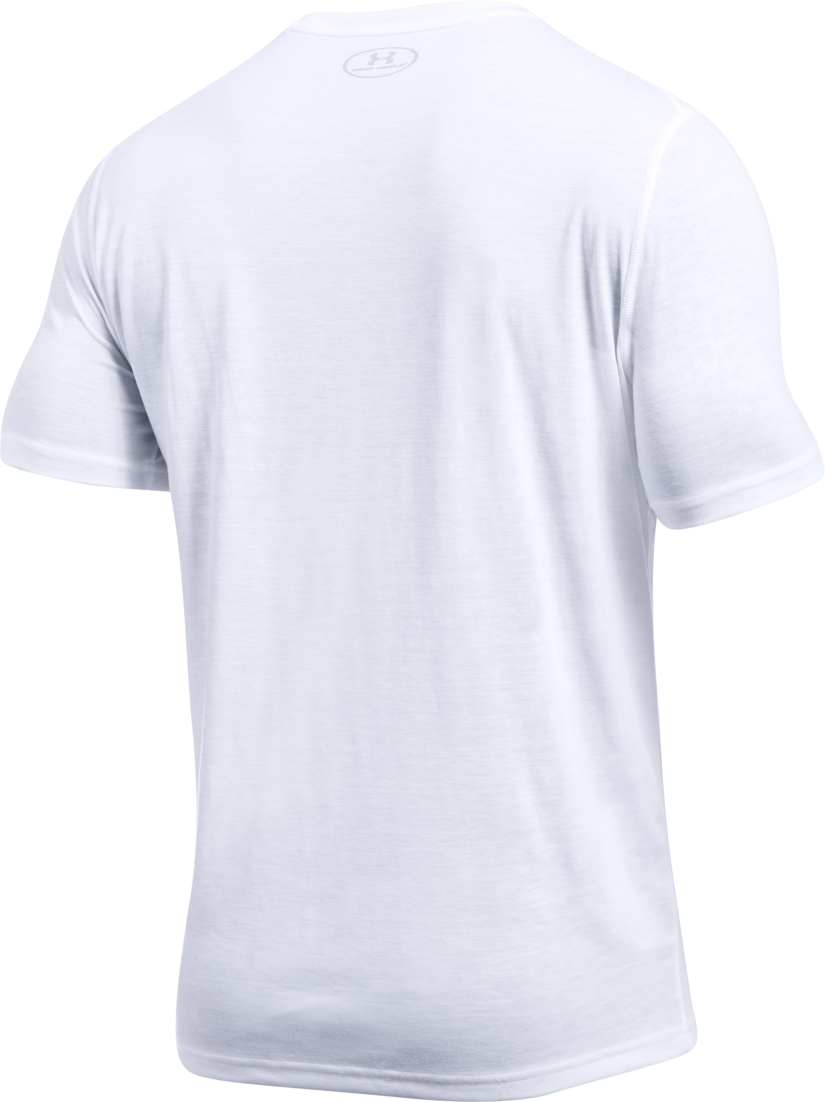 Men's UA Threadborne Siro Embossed T-Shirt, White