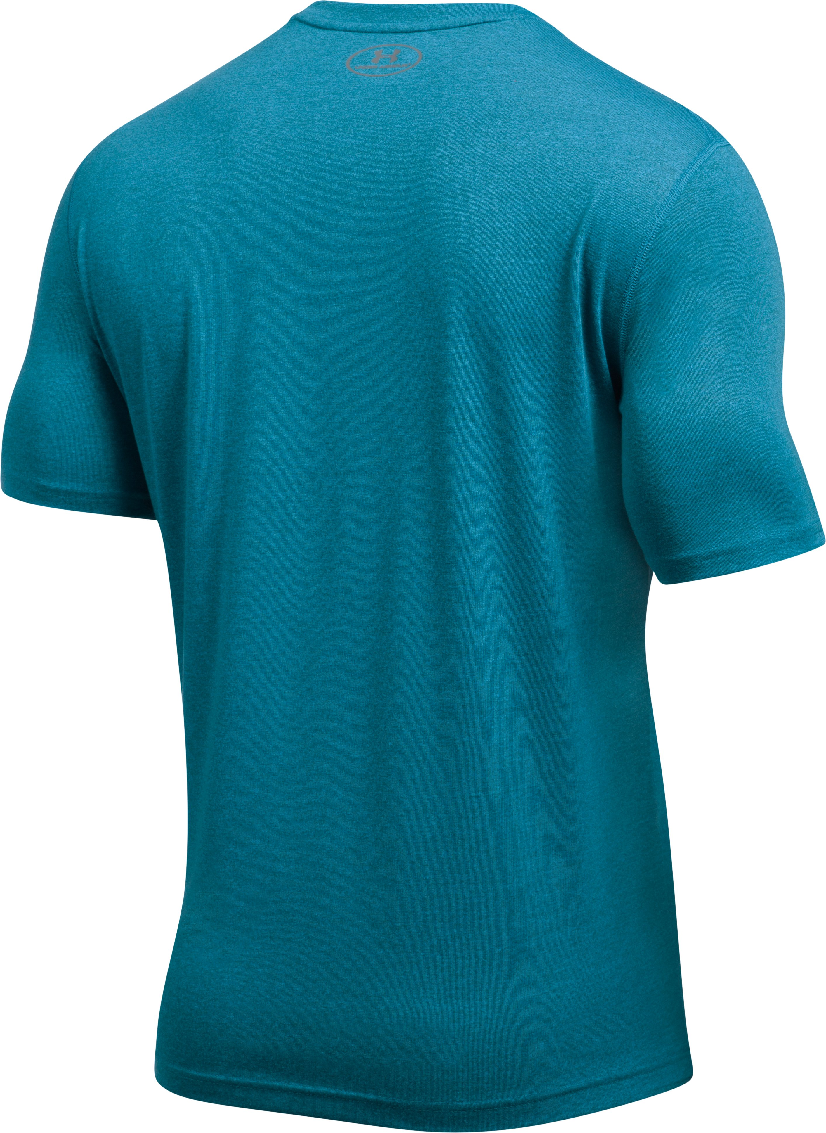 Men's UA Threadborne Siro Twist T-Shirt, BAYOU BLUE, undefined
