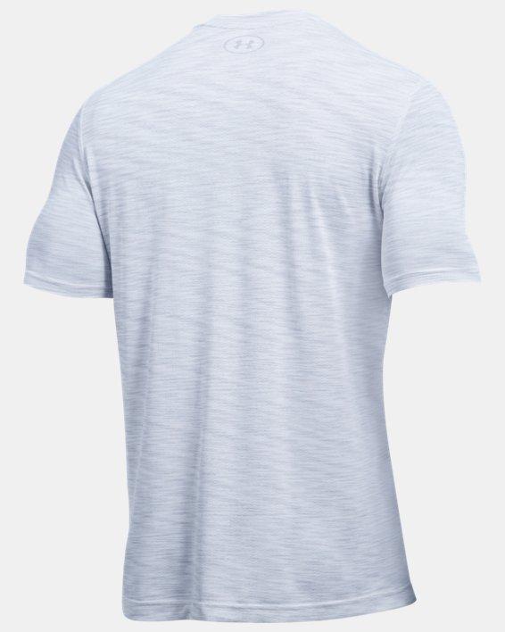 Men's UA Seamless T-Shirt, White, pdpMainDesktop image number 4