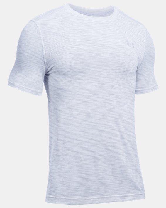 Men's UA Seamless T-Shirt, White, pdpMainDesktop image number 3