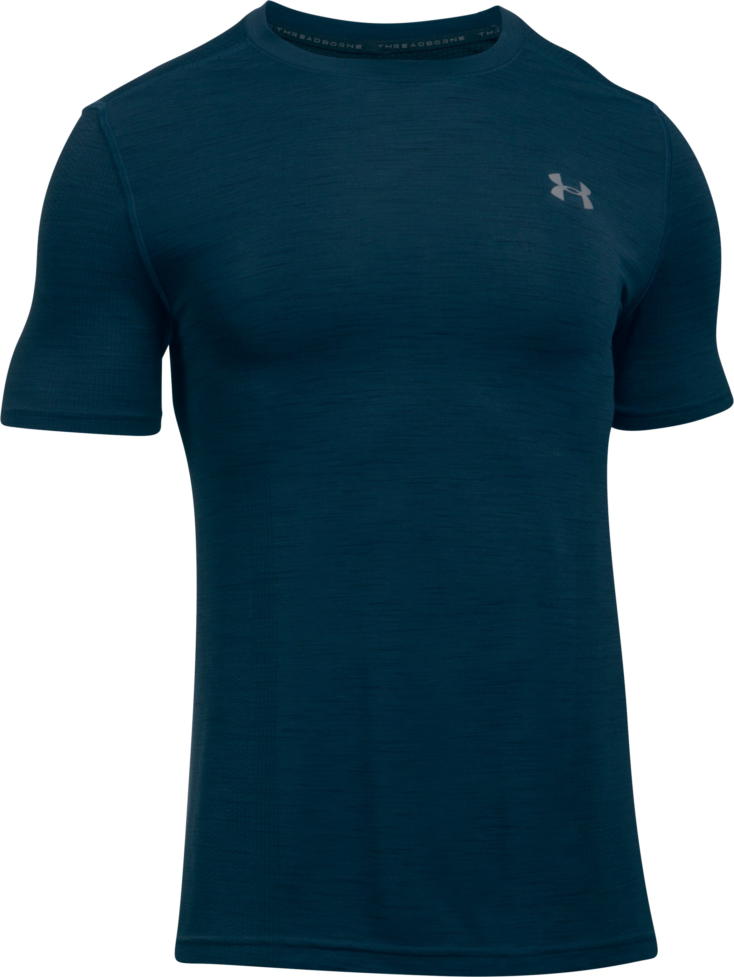 Men's UA Seamless T-Shirt, TRUE INK, undefined