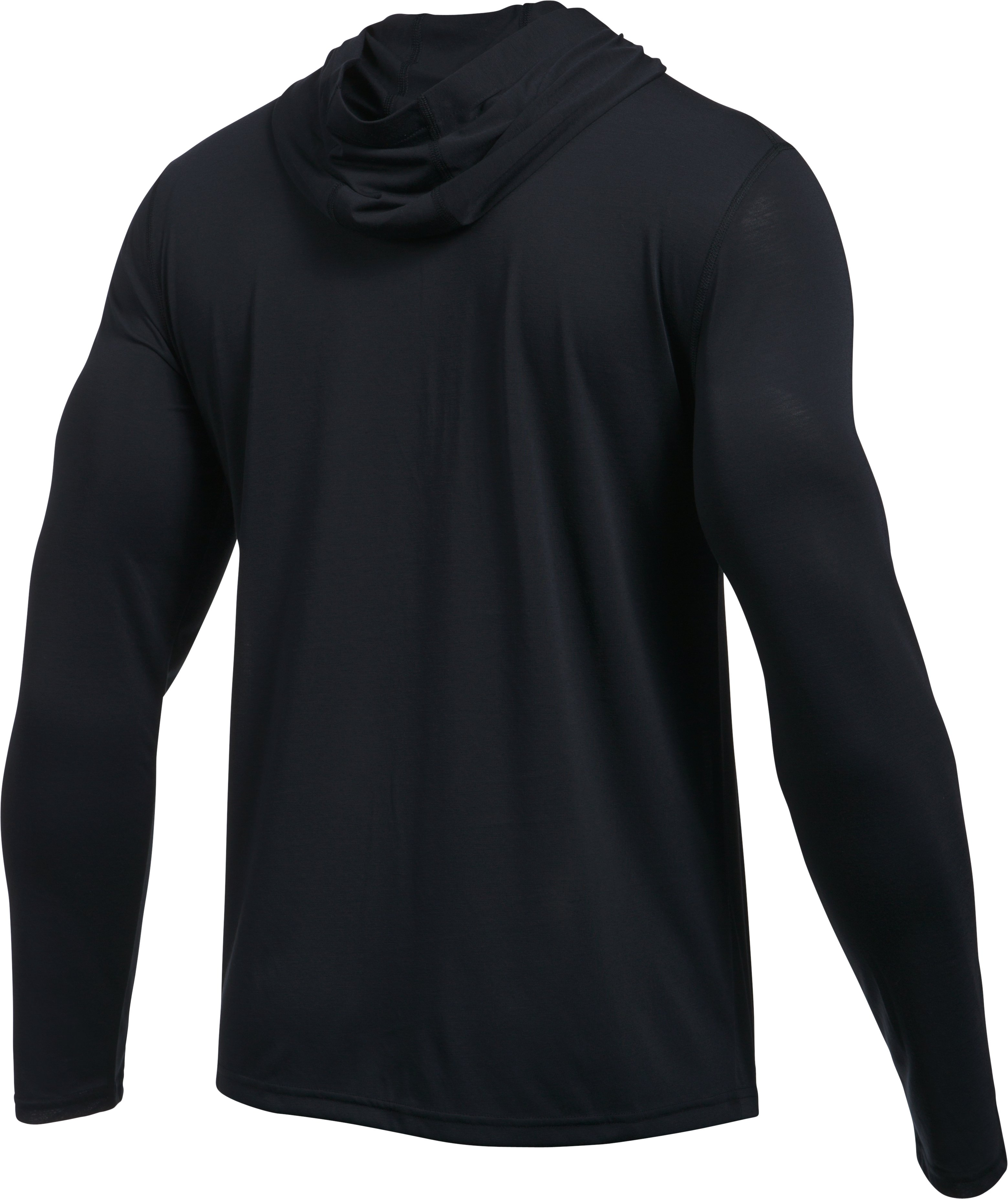 Men's UA Threadborne Siro Hoodie, Black , undefined