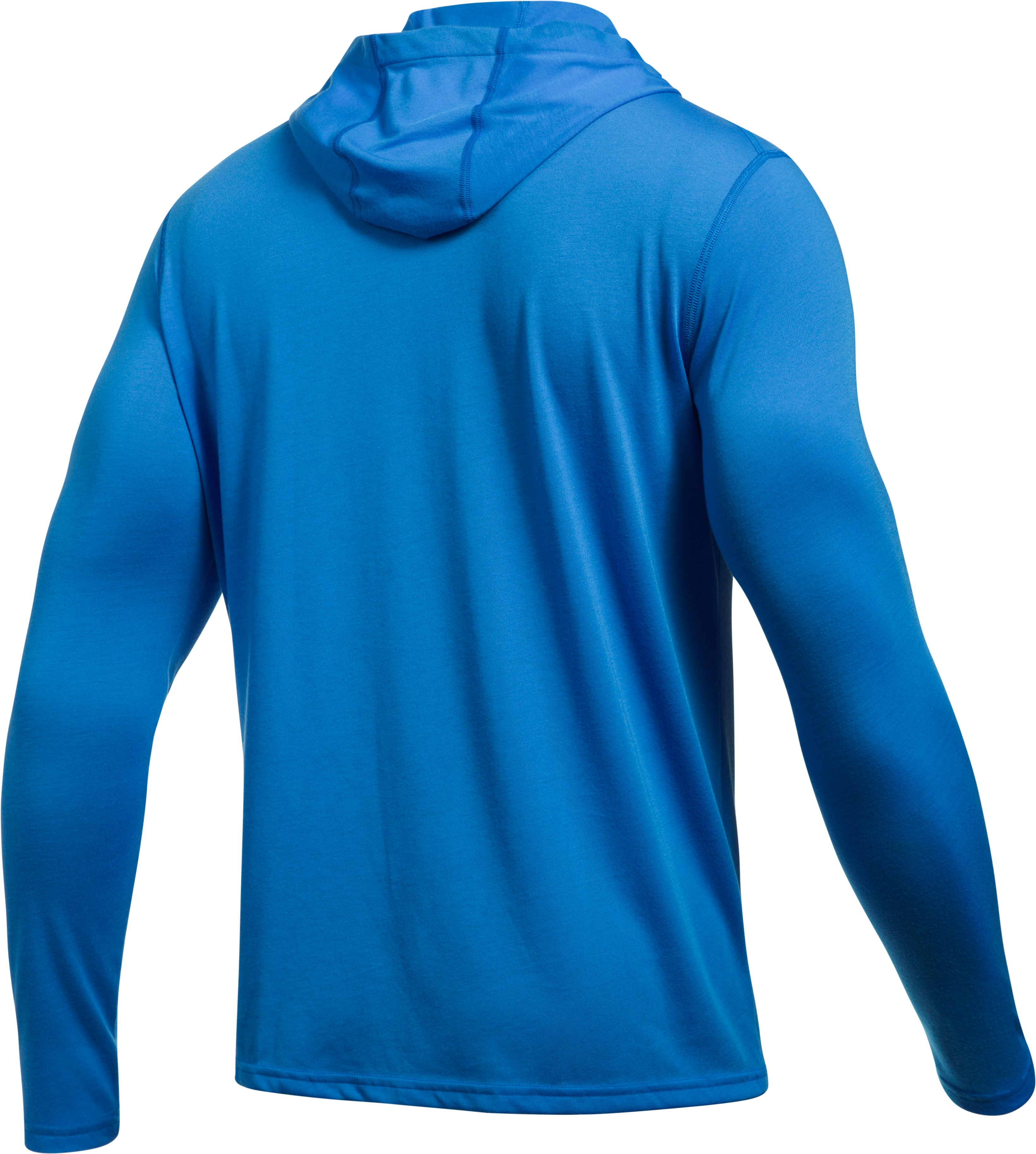 Men's UA Threadborne Siro Hoodie, MAKO BLUE,