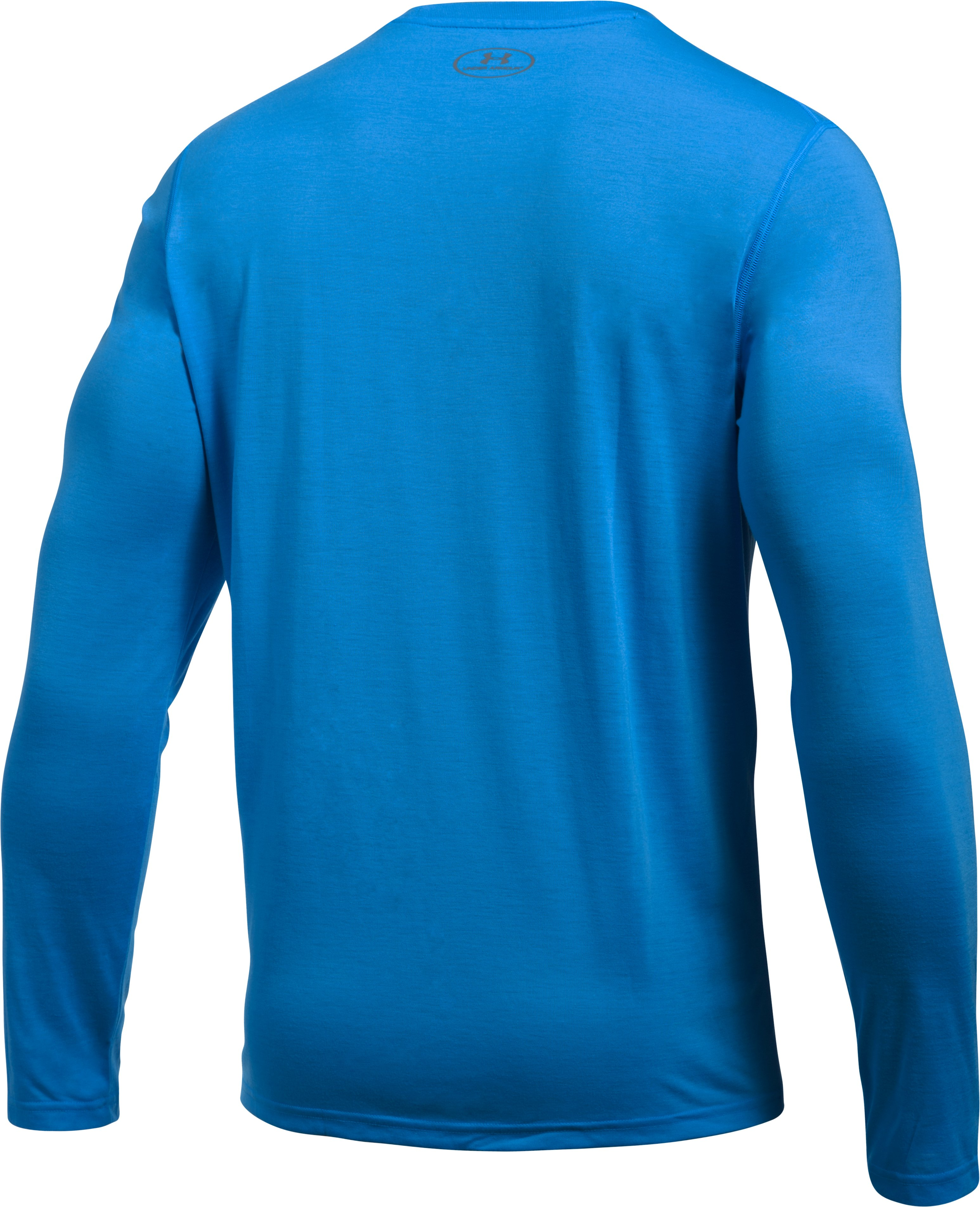 Men's UA Threadborne Siro Long Sleeve T-Shirt, MAKO BLUE, undefined