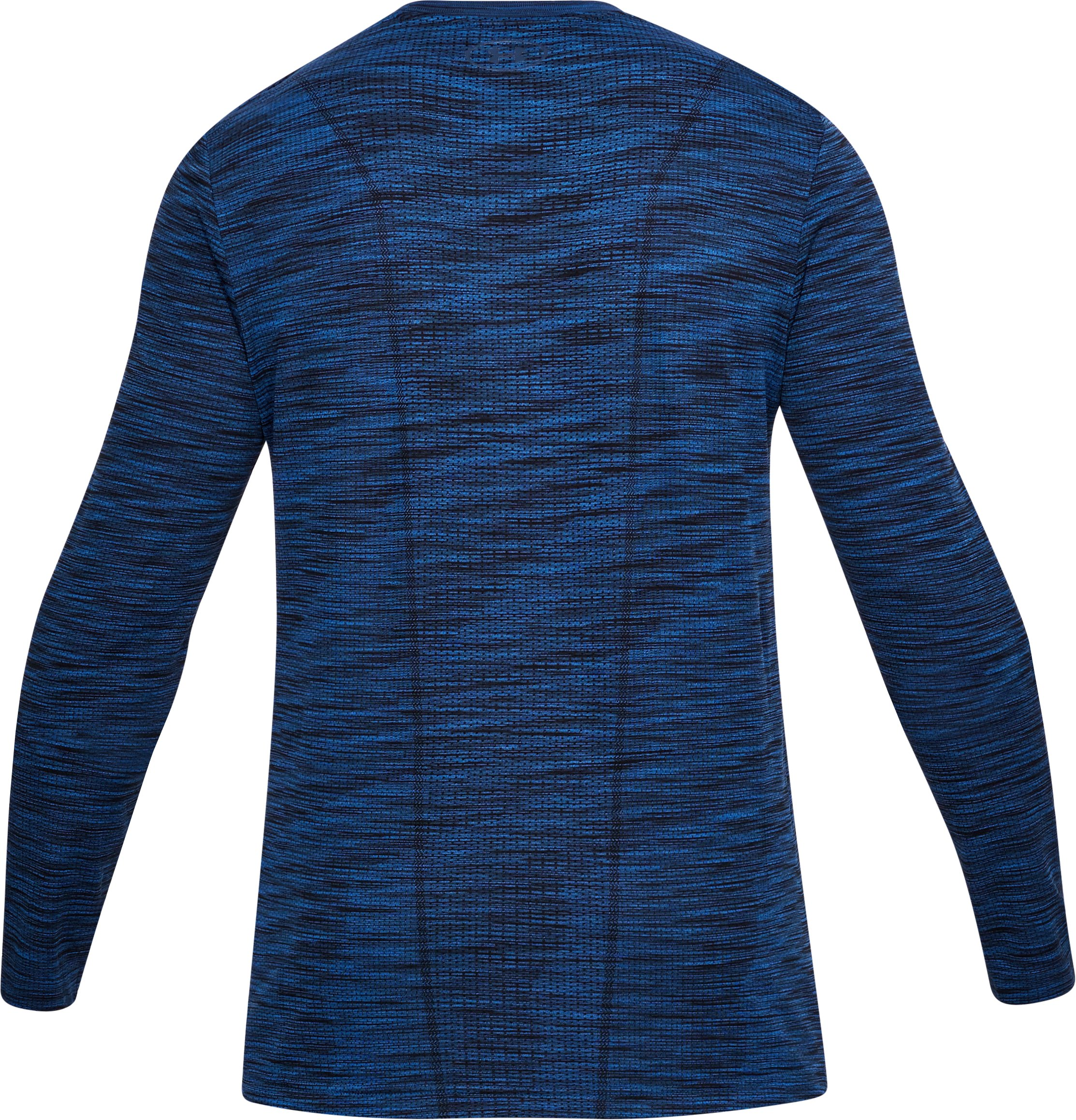Men's UA Threadborne Seamless Long Sleeve T-Shirt, MOROCCAN BLUE,
