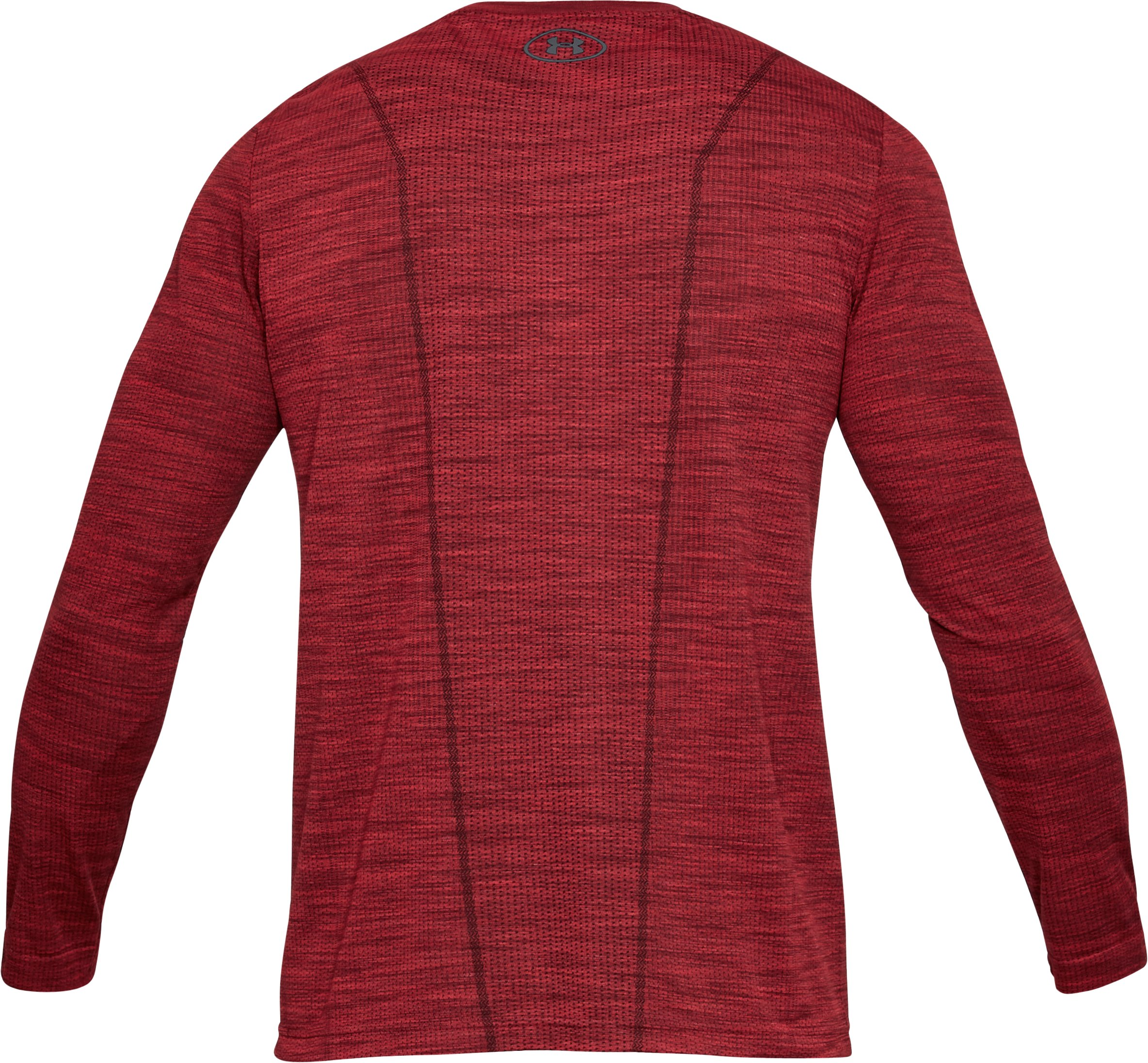 Men's UA Threadborne Seamless Long Sleeve T-Shirt, Pierce,