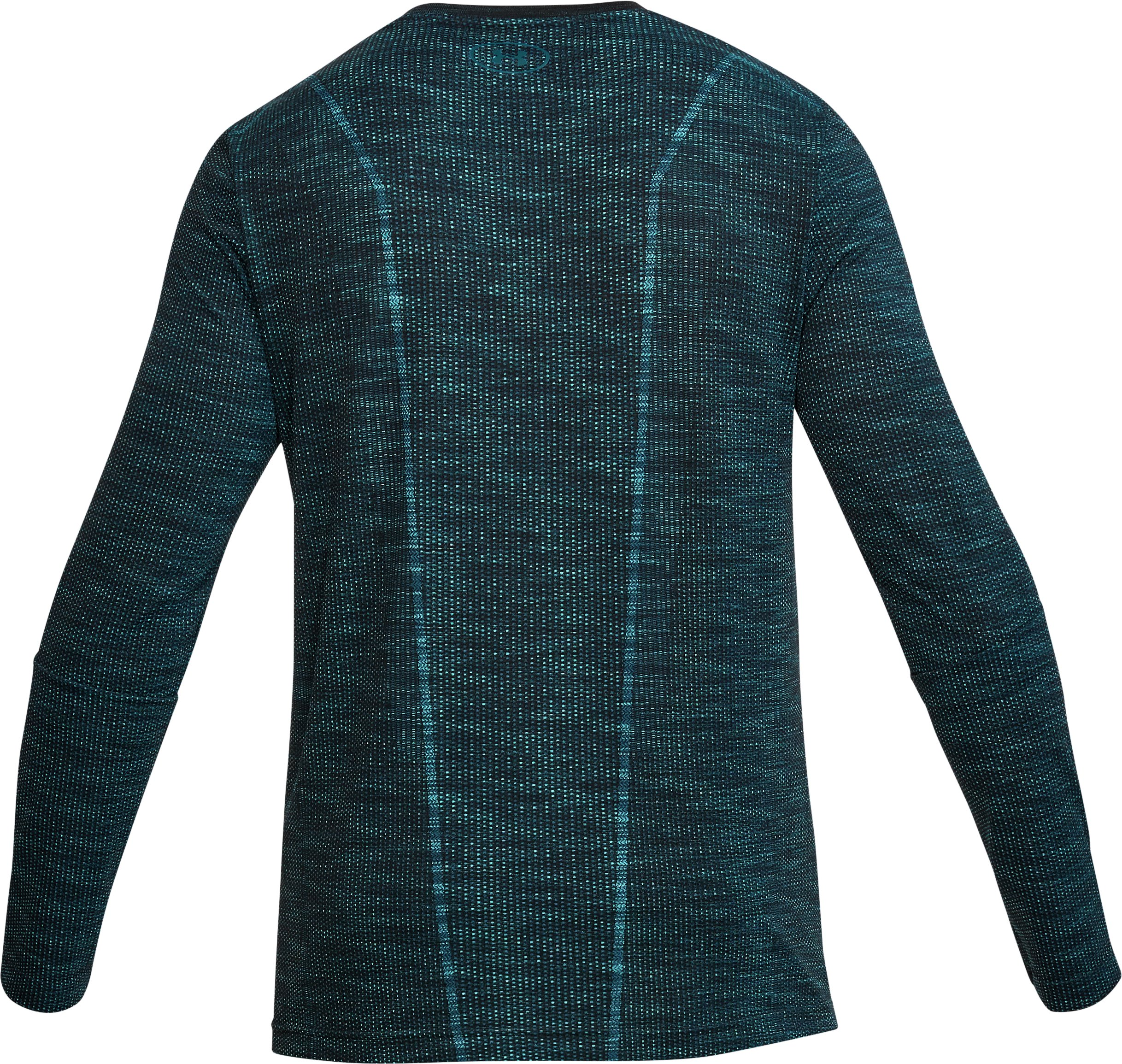 Men's UA Threadborne Seamless Long Sleeve T-Shirt, TOURMALINE TEAL,
