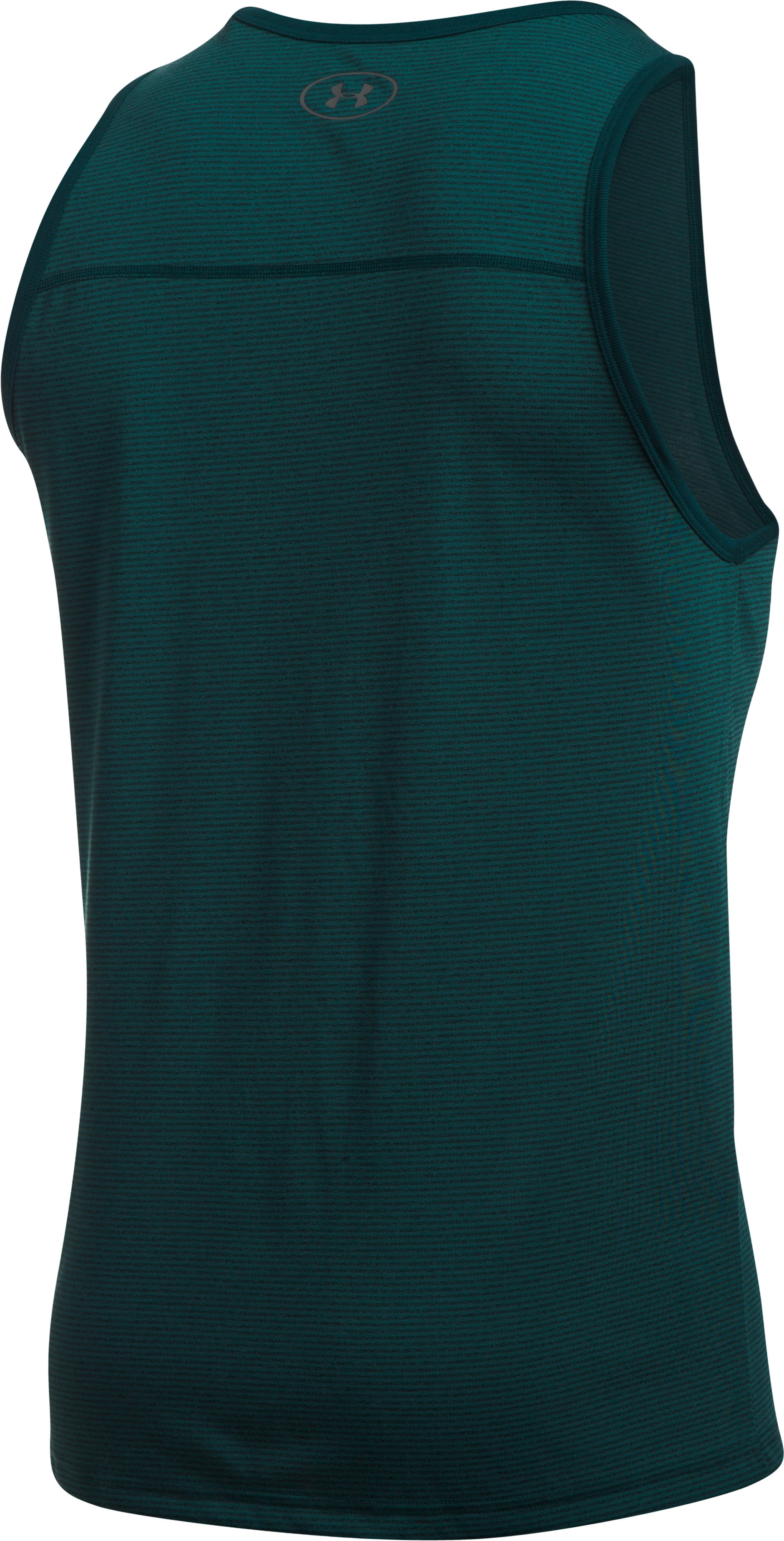 Men's UA Threadborne Siro Tank, ARDEN GREEN