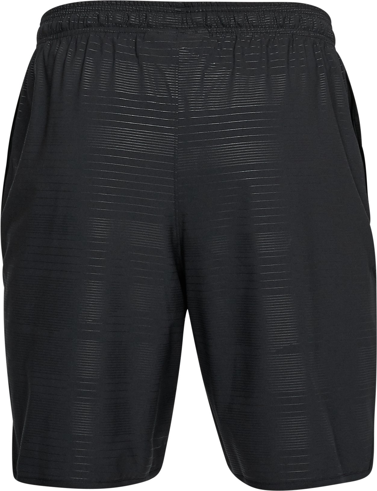 Men's UA Qualifier Printed Shorts, Black ,
