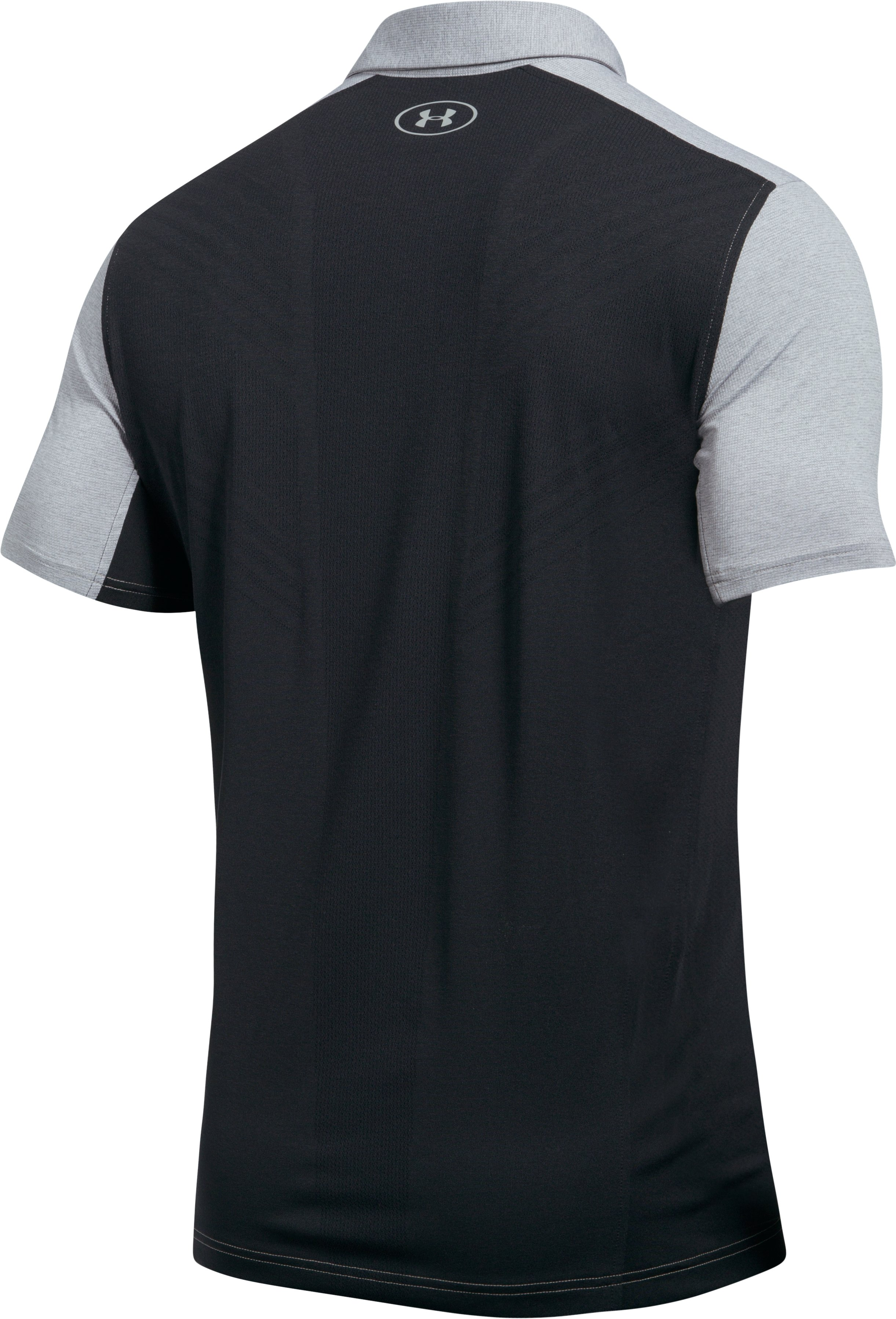 Men's UA Threadborne Center Court Polo, Carbon Heather