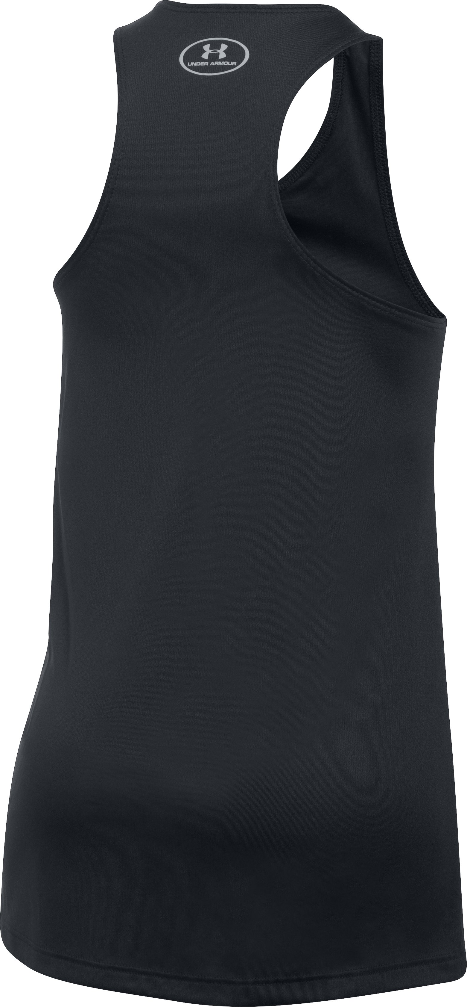 Girls' UA Graphic Tank, Black , undefined