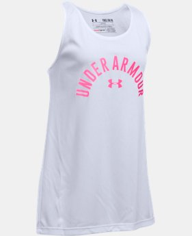 New Arrival Girls' UA Graphic Tank   $19.99