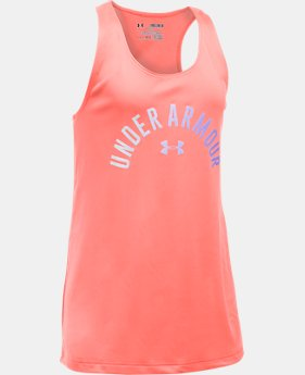 Girls' UA Graphic Tank  2 Colors $14.99