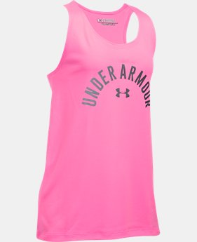 Girls' UA Graphic Tank  1 Color $11.24