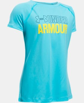 New Arrival Girls' UA Wordmark T-Shirt  4 Colors $19.99
