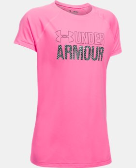 Girls' UA Wordmark T-Shirt  3 Colors $19.99