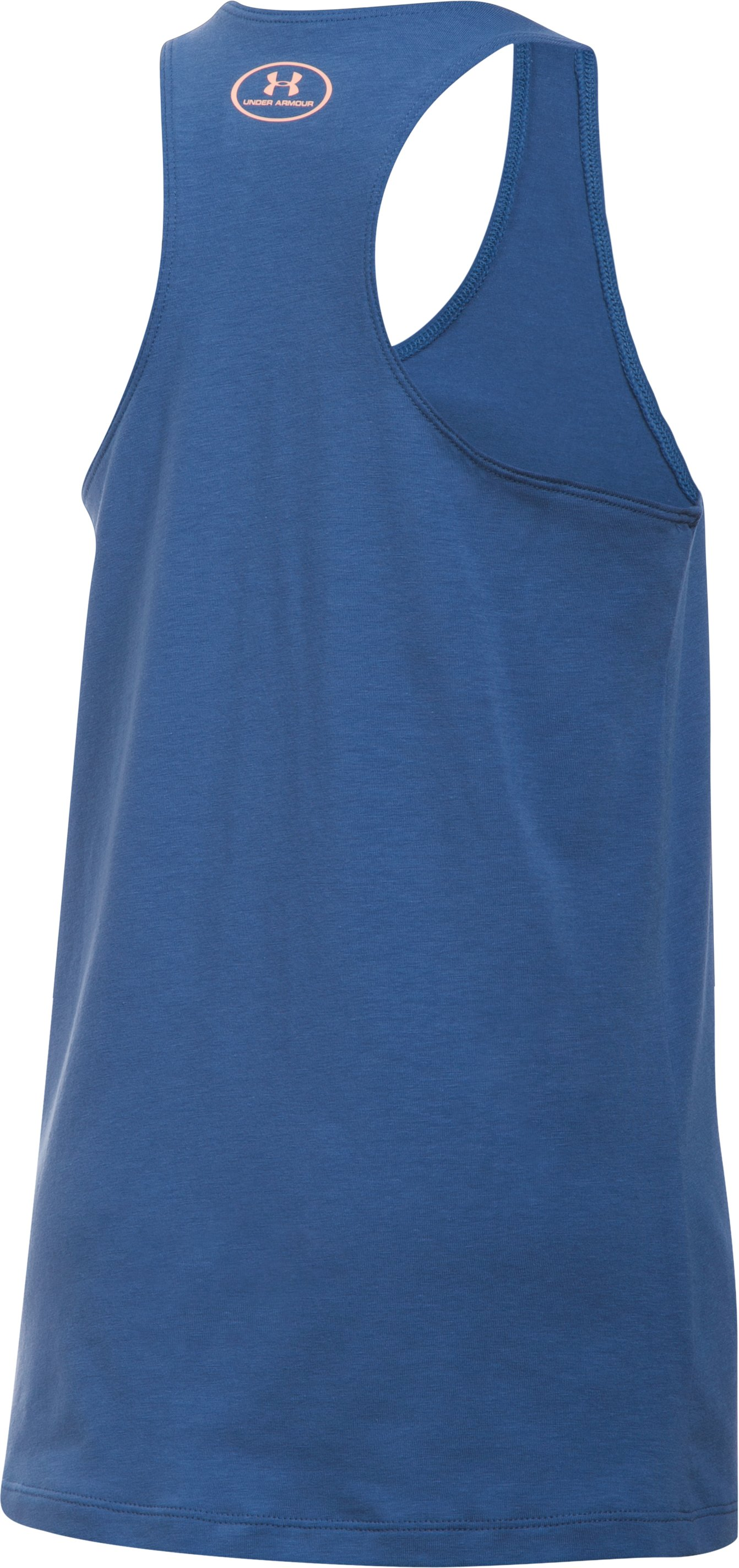 Girls' UA Train For Days Tank, DEEP PERIWINKLE, undefined