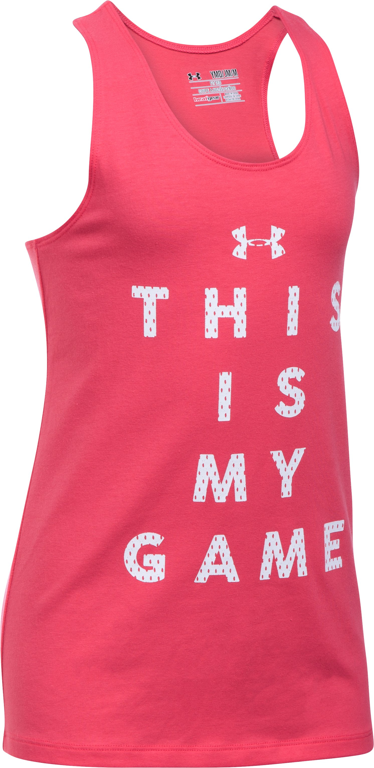 Girls' UA Game On Tank, GALA, undefined