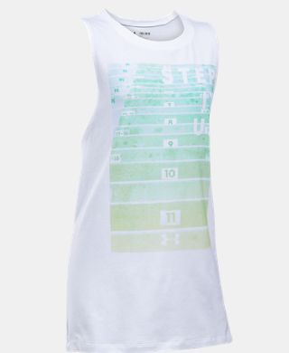 Girls' UA Step It Up Muscle Tank