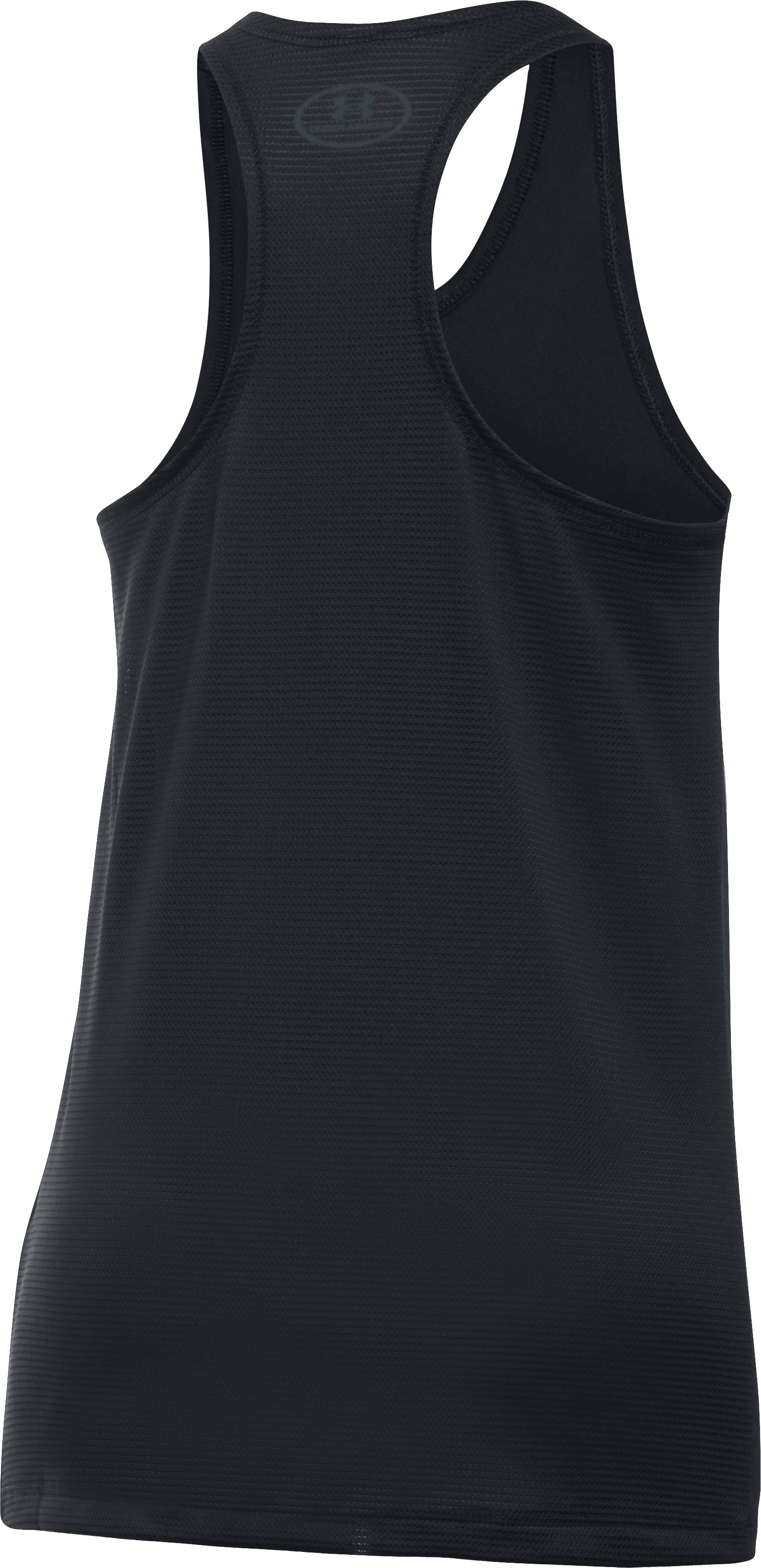 Girls' UA Armour® Tank, Black ,