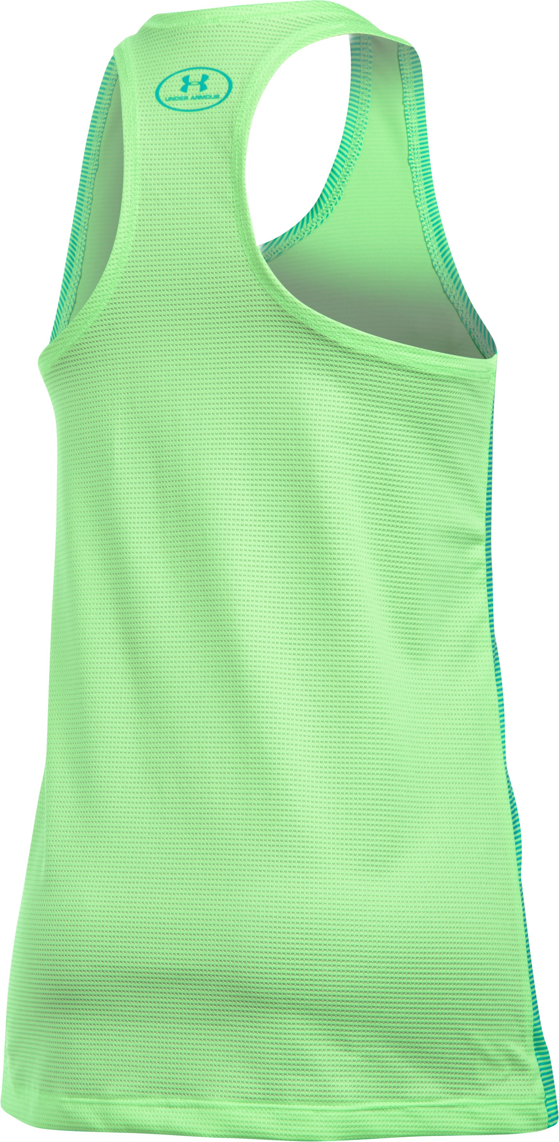 Girls' UA Armour® Tank, SUMMER LIME, undefined