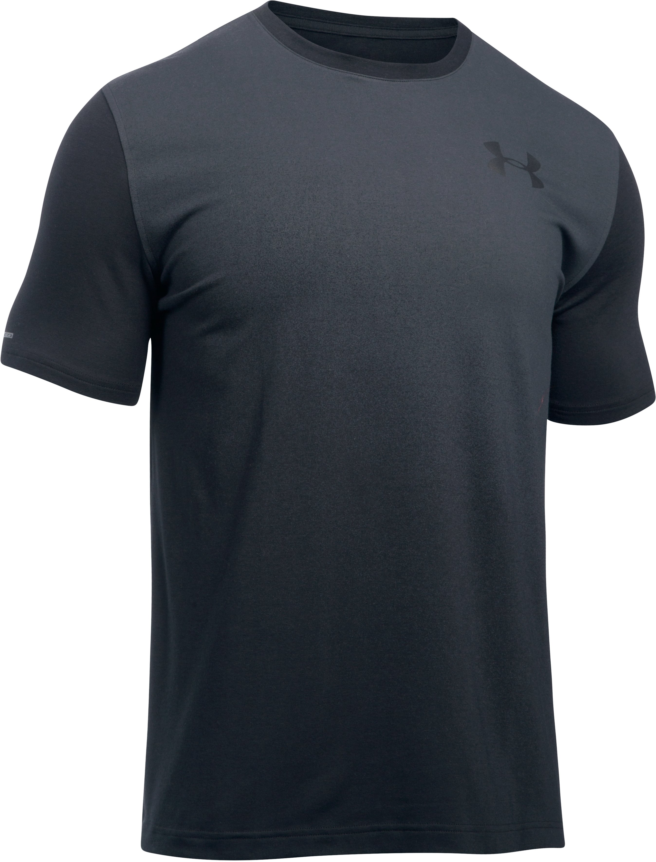 Men's UA Gradient T-Shirt, Black , undefined