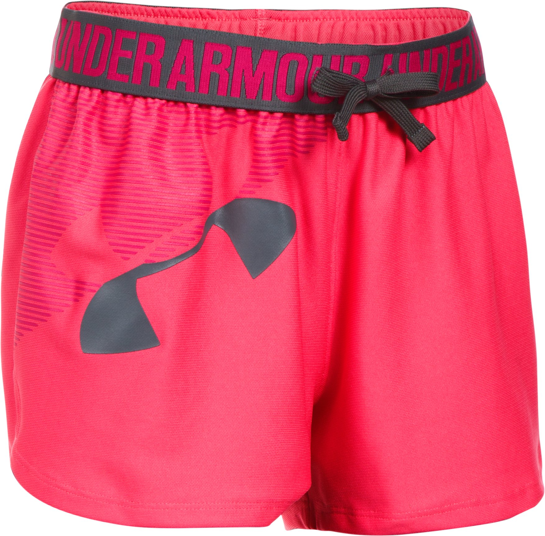 Girls' UA Play Up Graphic Shorts, GALA,