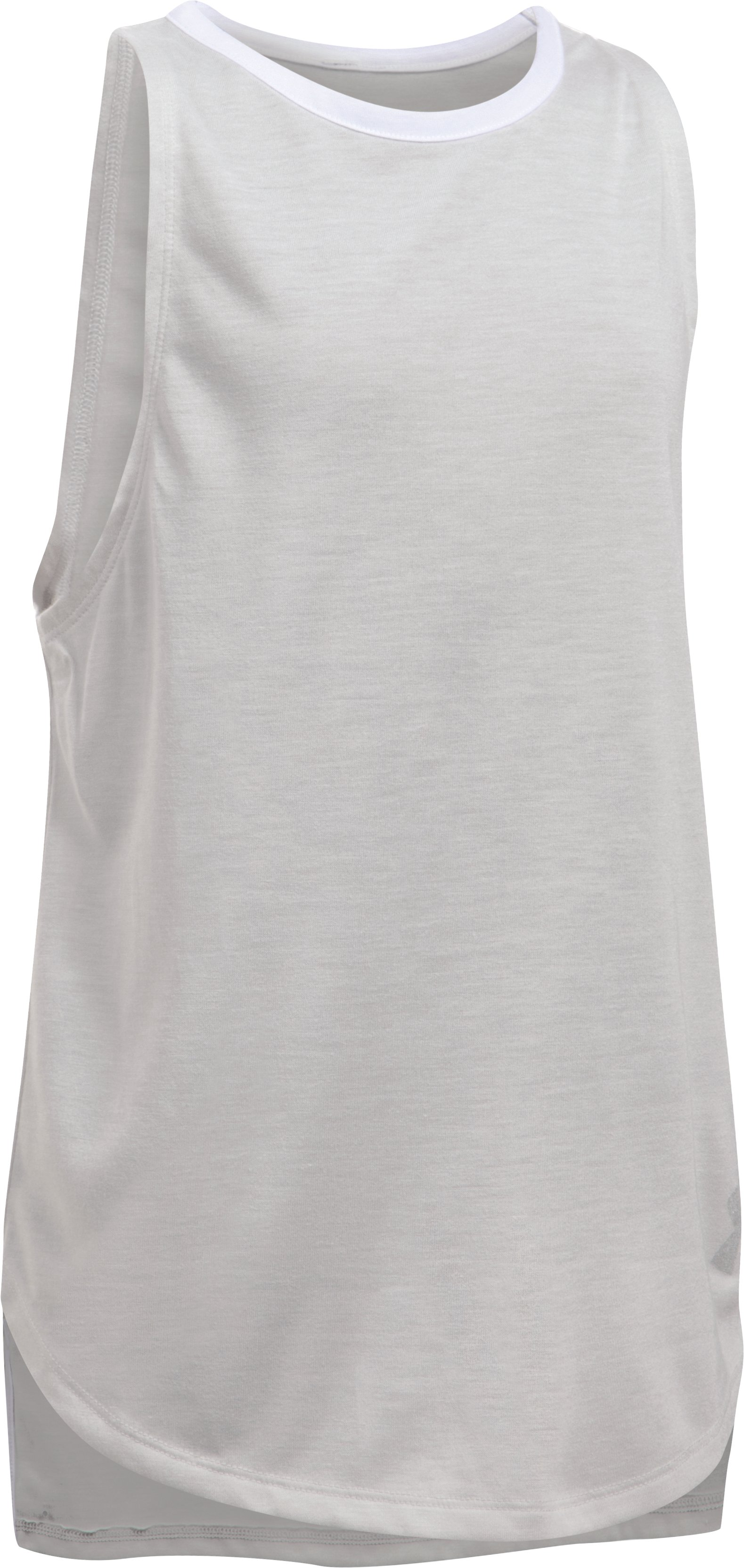 Girls' UA Threadborne Play Up Tank 10 Colors $14.99 - $18.99
