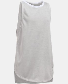 Girls' UA Threadborne Play Up Tank  2 Colors $12.5 to $14.99