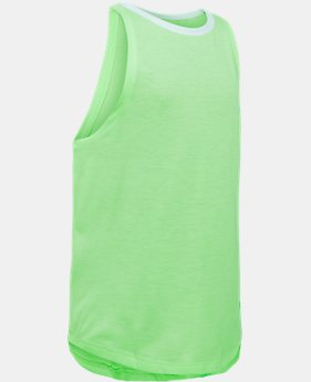 Girls' UA Threadborne Play Up Tank  10 Colors $12.5 to $14.99