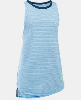Girls' UA Threadborne Play Up Tank  3 Colors $24.99