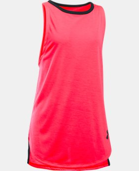 Girls' UA Threadborne Play Up Tank  2 Colors $12.5 to $18.74