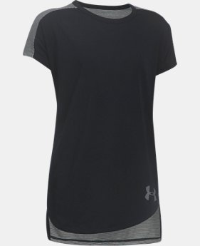 Girls' UA Threadborne Play Up T-Shirt  5 Colors $29.99