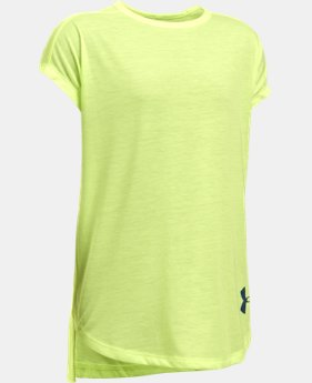 PRO PICK Girls' UA Threadborne Play Up T-Shirt  1 Color $13.99 to $18.74